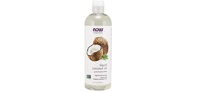 NOW Foods Pure Fractioned - Organic Liquid Coconut Oil