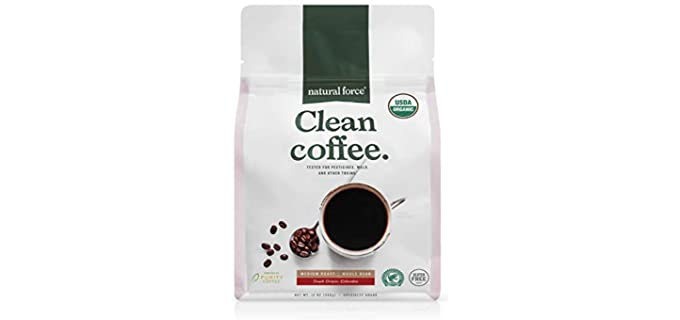 Natural Force Whole Bean - Organic Decaffeinated Coffee