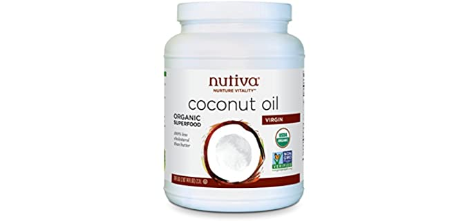 Nutiva Virgin - Organic Coconut Oil