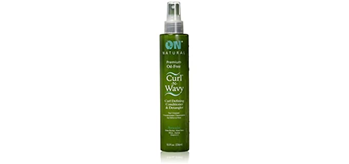 Dr. Natural Curl-n-wavy - Leave-in Conditioner & Detangler