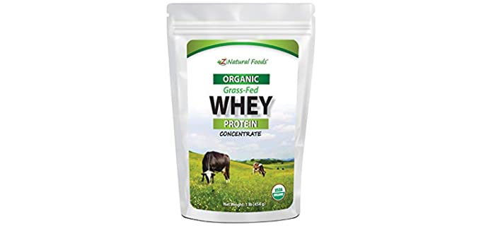 Z Natural Foods Grass-fed - Organic Whey Protein Powder