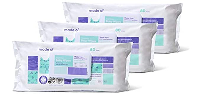 MADE OF Soothing - Soft Organic Baby Wipes
