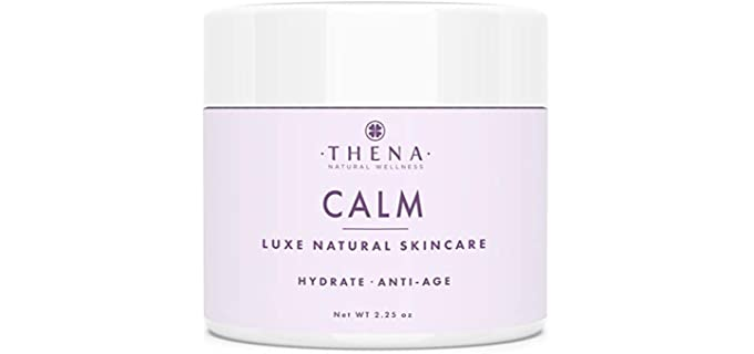 THENA Natural Wellness Ultra Hydrating - Organic Facial Moisturizer Cream