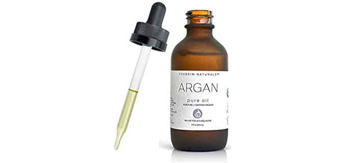Foxbrim Naturals 100% Pure - Organic Extra Virgin Argan Oil