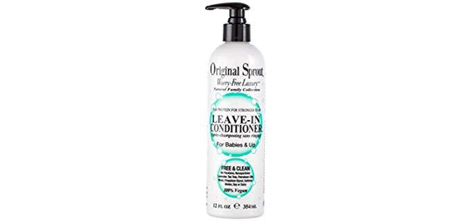 Original Sprout Worry Free Luxury - Organic Leave In Conditioner
