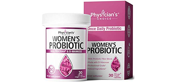 PC Women's - Organic Probiotic Supplements