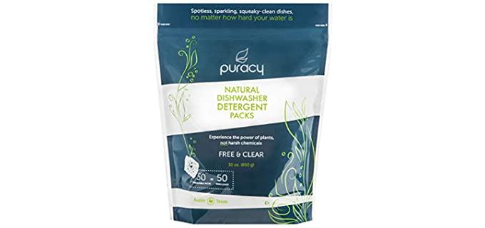 Puracy Platinum - Dishwasher Detergent Pods Organic