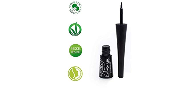 PuroBIO Liquid - Black Matt Liquid Eyeliner
