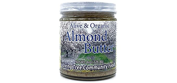 Living Tree Community Foods Raw - Organic Almond Butter