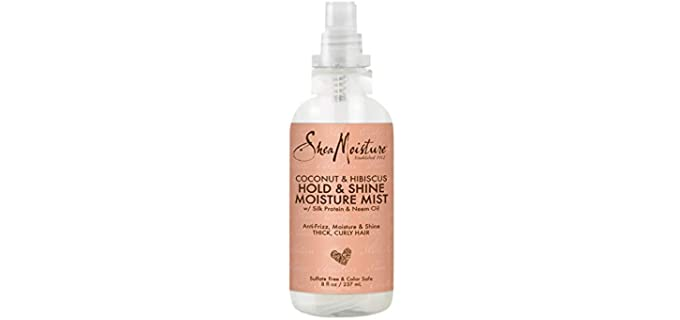 Shea Moisture Shine and Hold - All Natural Hair Spray