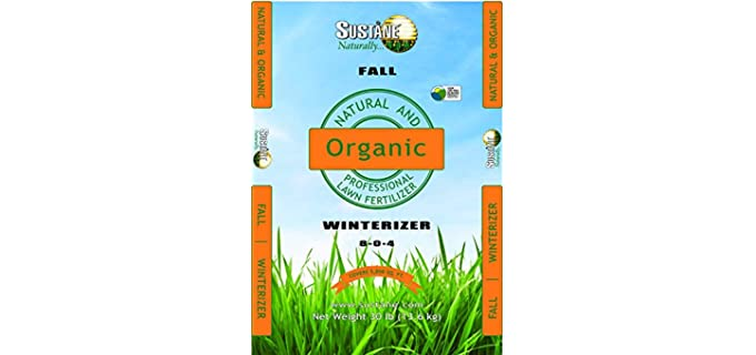 Sustane 8-0-4 - Organic Winterizer Fertilizer