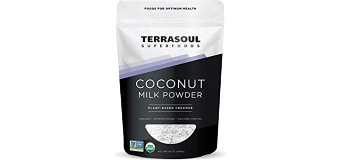 Terrasoul Superfoods Plant-Based - Organic Coconut Milk Powder