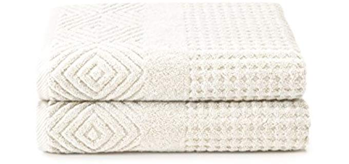 TexereSilk Textured - Organic Cotton Bath Towels