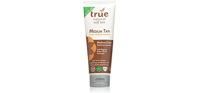 True Natural Tan - Organic Self Tanner