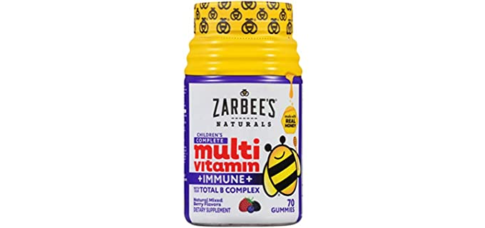Zaarbee's Naturals - Organic Vitamins for Toddlers