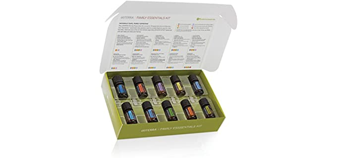 doTERRA Family Essentials Kit - Organic Essential Oils