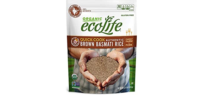 Ecolife Authentic - Indian Organic Basmati Rice