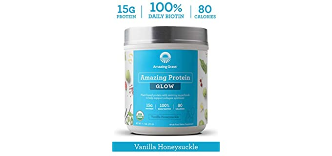 Amazing Grass Vanilla - Plant Collagen Supplement