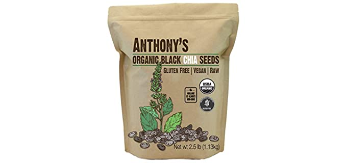 Anthony's American - Absorbent Organic Chia Seeds