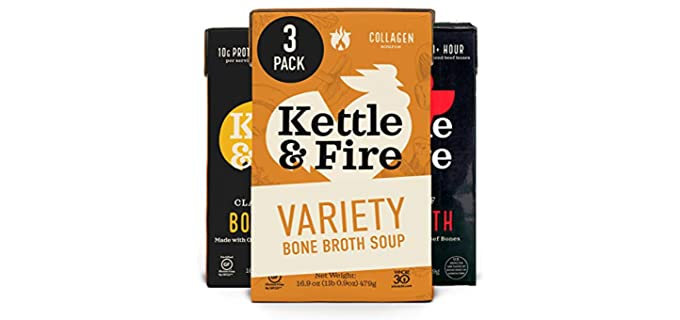 Kettle & Fire Organic - Chicken Bone Broth