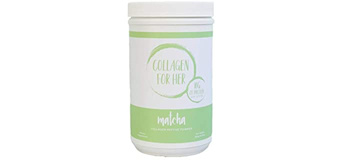 Collagen For Her Matcha - Organic Collagen Powder