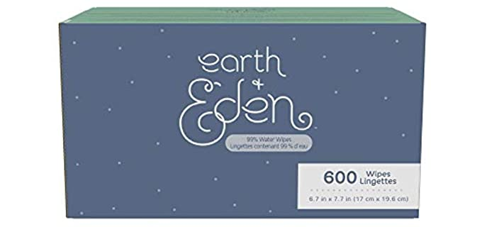 Earth + Eden Ultra Premium - Safe Organic Infusion Baby Wipes