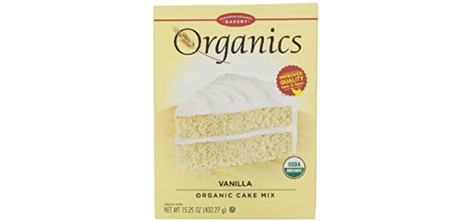European Gourmet Bakery Wheat - Organic Cake Mix