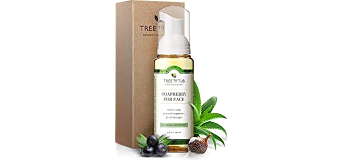Tree to Tub Nutritional Face Wash - Anti-Aging Face Wash for Acne