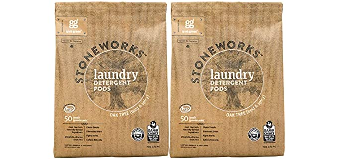 Grab Green  Stoneworks - Organic Laundry Detergent Pods