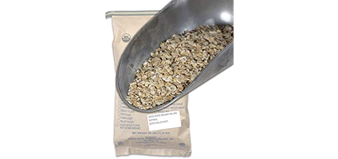 Great River Organic Milling Whole Grain - Organic Oatmeal