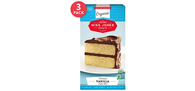 Miss Jones Baking Non-GMO - Organic Vegan Cake Mix