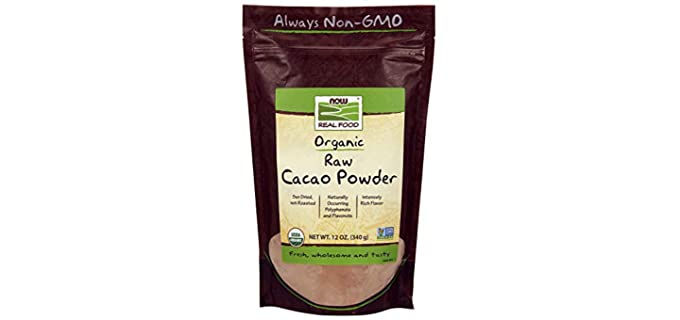NOW Foods Sun-Dried - Natural Cacao Powder