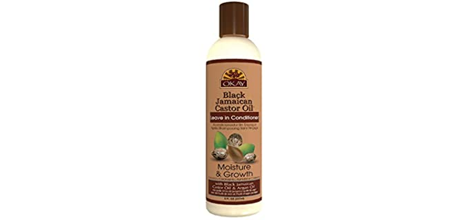OKAY Black Jamaican - Natural Leave-In Conditioner