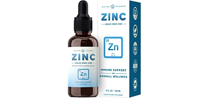 NutraChamps Organic Zinc - Dietary SUpplement