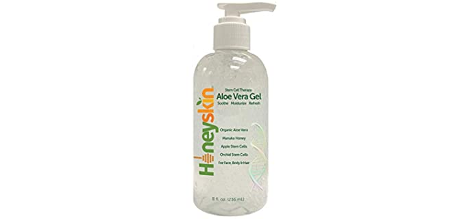 Honeyskin Stem Cells - Pulpy Organic Aloe Vera Gel