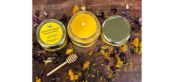 Heirloom Essential Oil -  Beeswax Candle