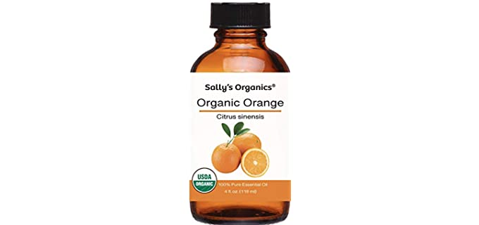 Sally's Organics Orange - Pure Organic Essential Oils