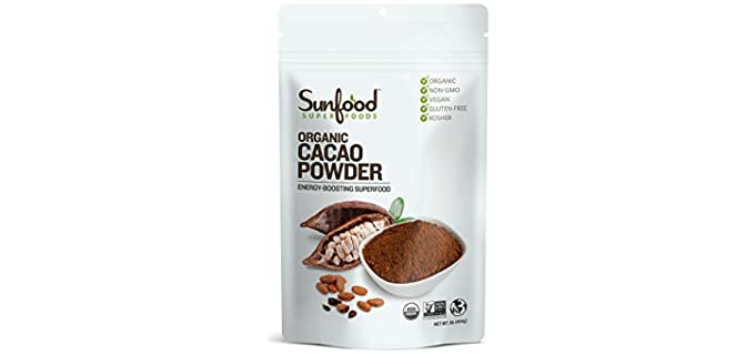 Sunfood Superfoods Energy-Boosting - Raw Cacao Powder