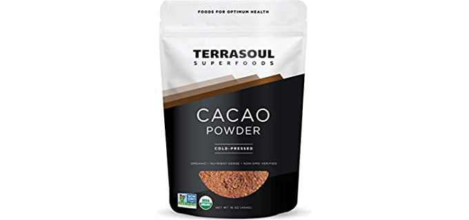 Terrasoul Superfoods Raw - Keto Cacao Powder