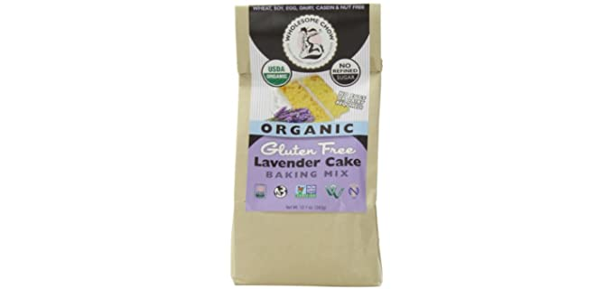 Wholesome Chow Lavender - USDA Organic Cake Mix