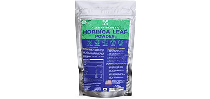 Zen Principle Sun-Dried - Organic Moringa Powder