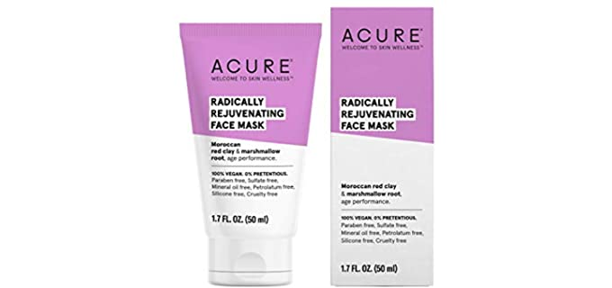 Acure Red - Pore Clarifying Mask