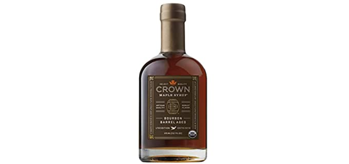 Crown Maple 12.7 Fl. Oz - Aged Organic Maple Syrup