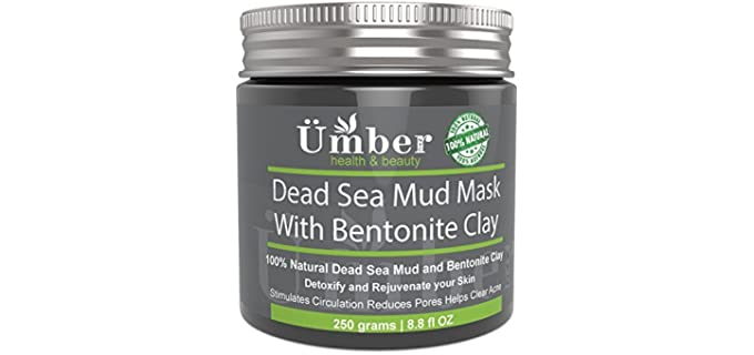 Umber NYC Dead Sea - Organic Face Mask