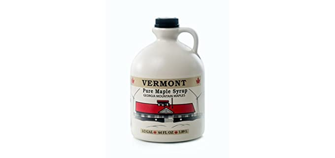 Georgia Mountain 64 Ounce - Organic Maple Syrup