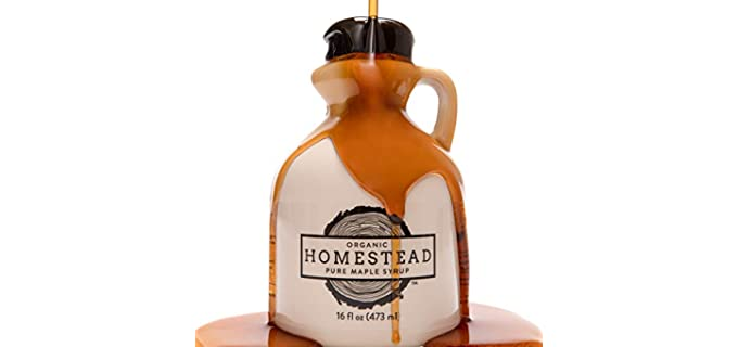 Homestead Homemade - Organic Amber Maple Syrup