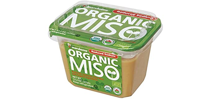 Marukome Reduced Sodium - Organic Miso