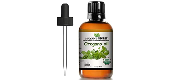 Mayan's Secret Undiluted - Organic Oregano Oil