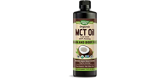 Nature's Way Gluten-free - Organic MCT Oil