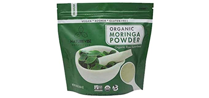 Naturevibe Botanicals Herbal - Native Organic Moringa Powder